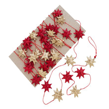 Load image into Gallery viewer, Holiday Star Garland - more colors