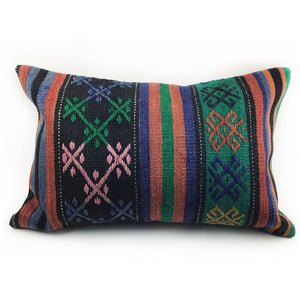 "16"" x 24"" Vintage Kilim Pillow with Insert - #2"