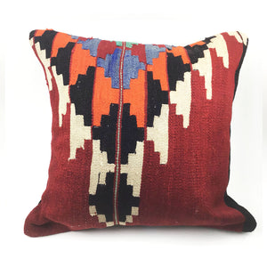 "20"" Vintage Kilim Pillow with Insert"