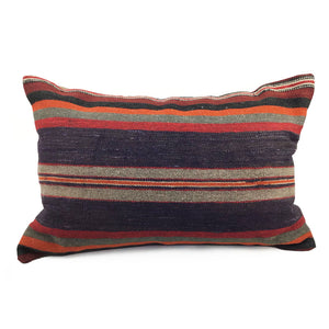 "16"" x 24"" Vintage Kilim Pillow with Insert - #9"