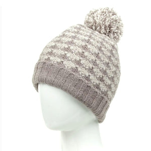 Fleece Lined Wool Hat - more colors