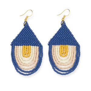 Lapis Sunset Earrings