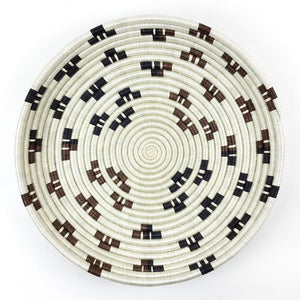 XL Hand-Woven Statement Basket Tray