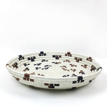 Load image into Gallery viewer, XL Hand-Woven Statement Basket Tray