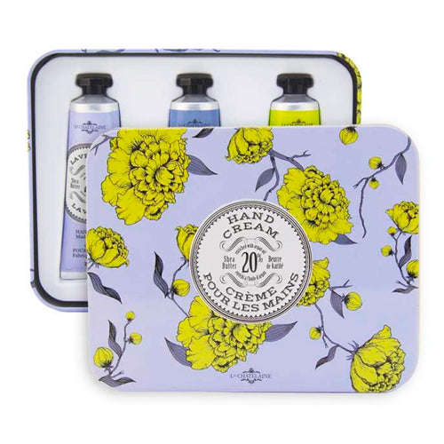 La Chatelaine Luxury Hand Cream Gift Set - Lavender
