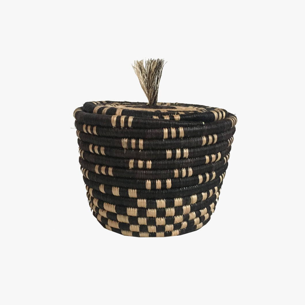 Small Lidded Basket #3