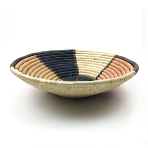 Muted Abstract Bowl Basket