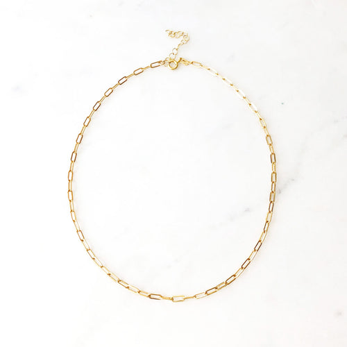 14K Gold Fill Links Choker