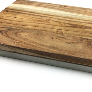 Reversible Marble and Wood Serving Board