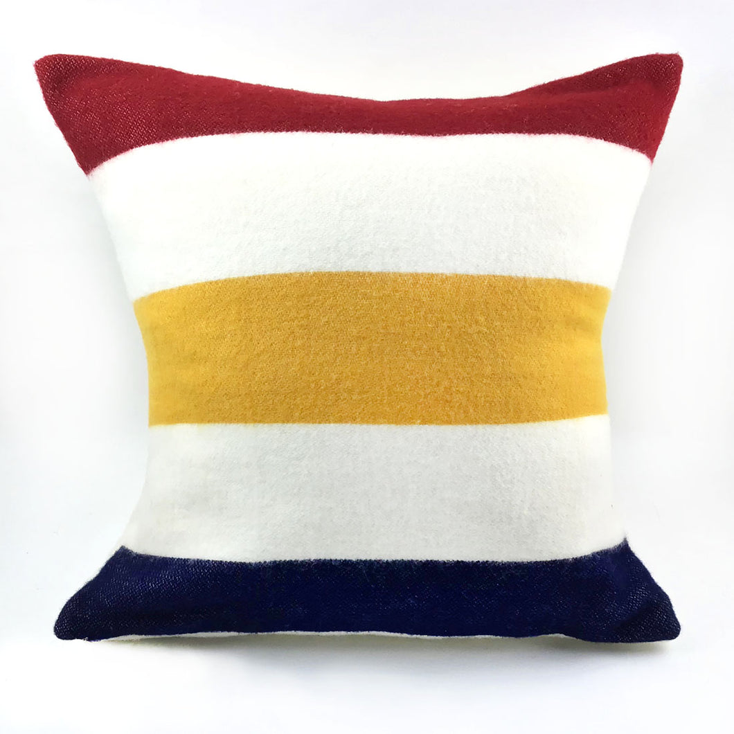 Faribault Revival Stripe Pillow with Insert