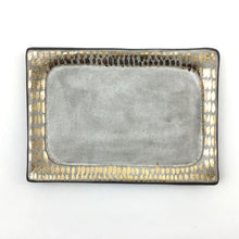 Load image into Gallery viewer, Silver and Gold Dash Vanity Tray