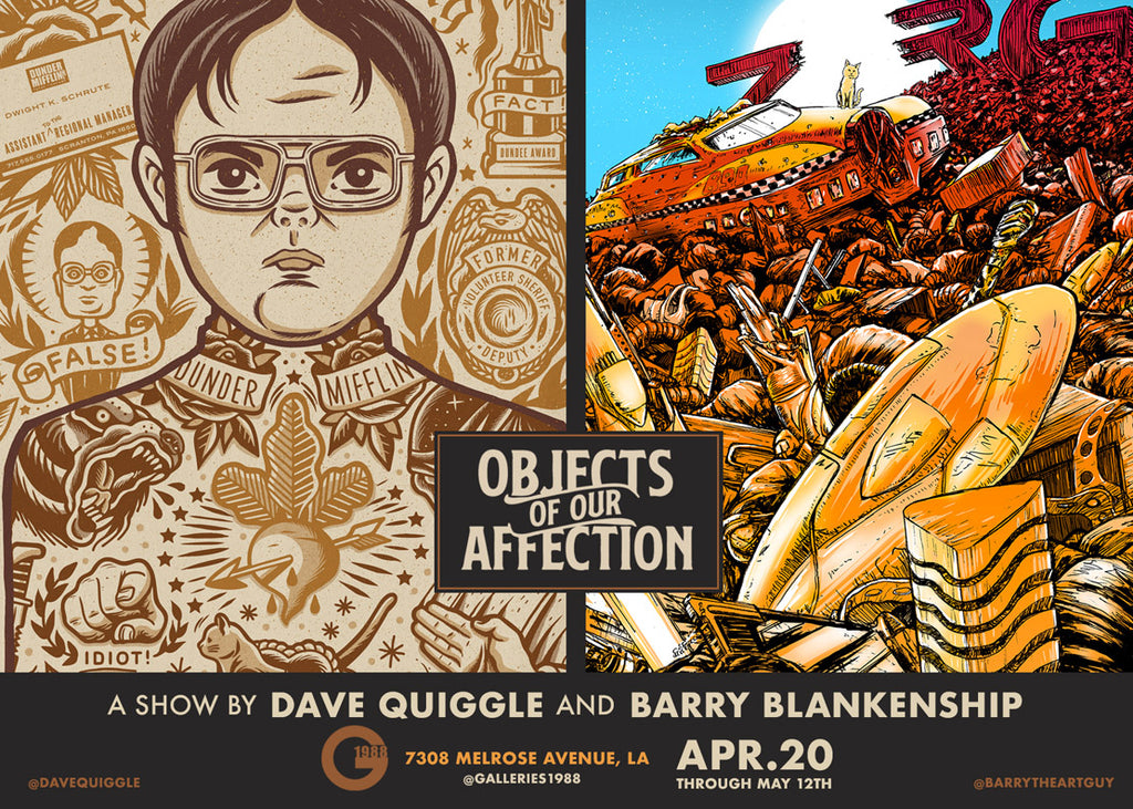"Barry Blankenship and Dave Quiggle ""Objects of Our Affection"""