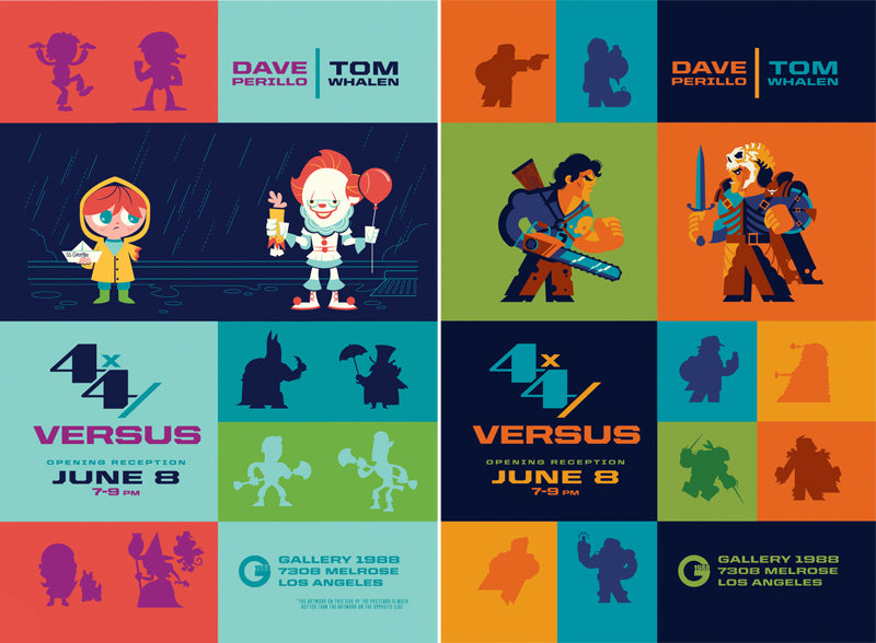 "Dave Perillo and Tom Whalen ""4x4 / VERSUS"""