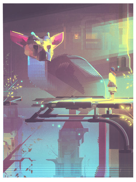 "James Gilleard ""The Last Guardian"" Framed Print"