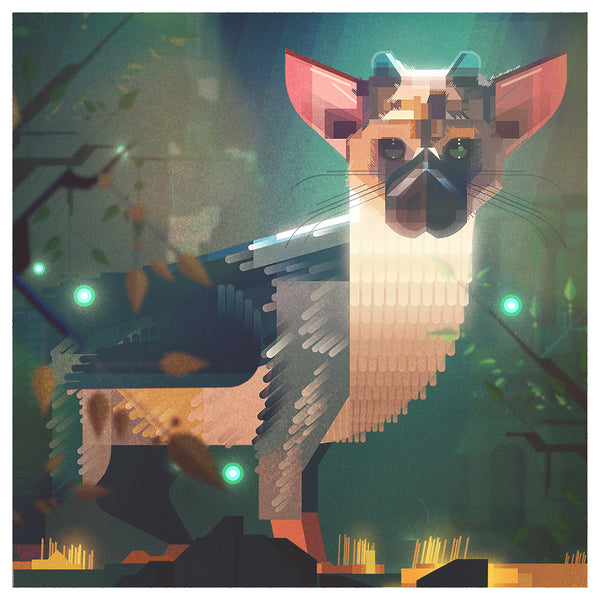 "James Gilleard ""Trico"" Framed Print"