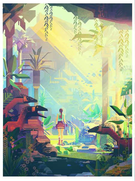 "James Gilleard ""The Lost Valley"" Framed Print"