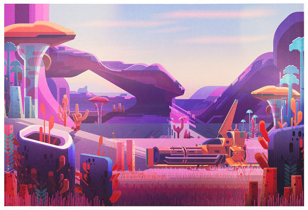 "James Gilleard ""Arch"" Print"