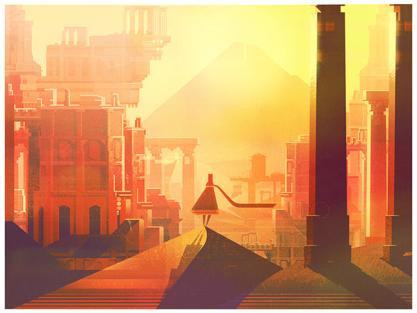 "James Gilleard ""The Call"" Print"