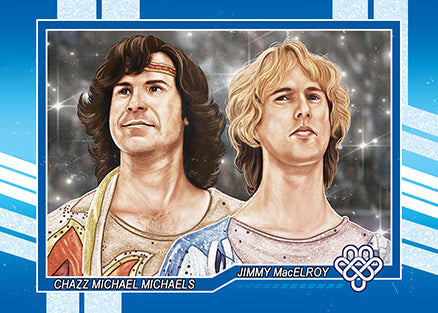 "Cuyler Smith ""103 - Chazz Michael Michaels and Jimmy MacElroy"" Trading Card"