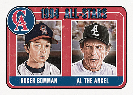 "Cuyler Smith ""116 - Roger Bomman and Al the Angel"" Trading Card"