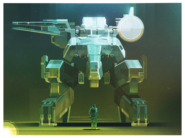 "James Gilleard ""Metal Gear Rex"" Print"