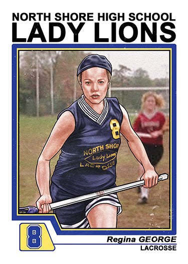 "Cuyler Smith ""Regina George"" Trading Card"