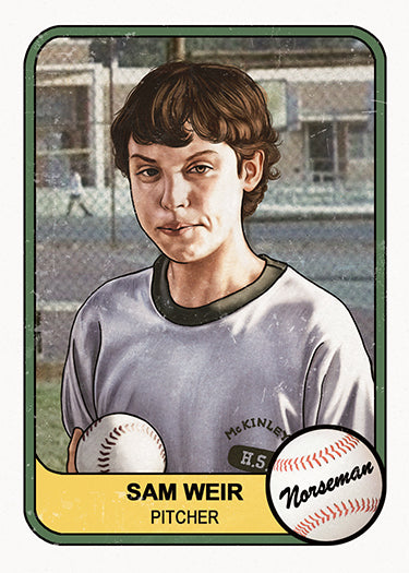 "Cuyler Smith ""Sam Weir"" Trading Card"