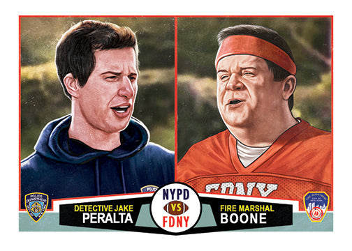 "Cuyler Smith ""174 - Peralta and Boone"" Trading Card"