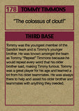 "Cuyler Smith ""177 & 178 - Timmy and Tommy Timmons"" Trading Card Set"