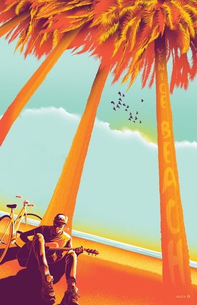 "17th & Oak ""Venice Beach"" Print"