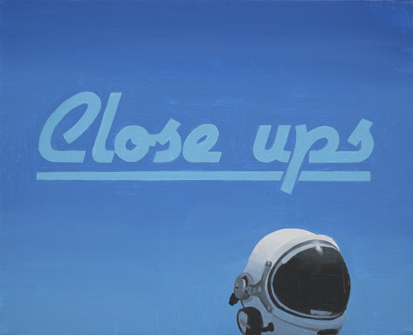 "Scott Listfield ""Close Ups (Sign)"""