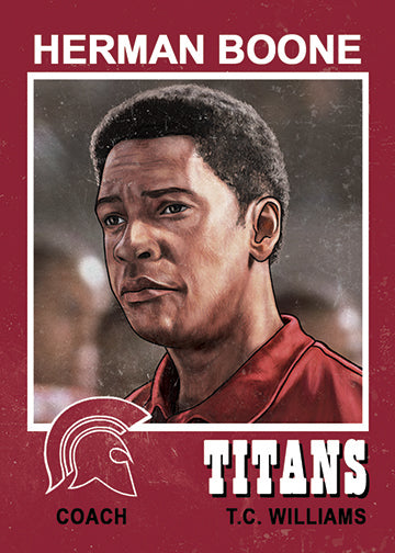 "Cuyler Smith ""208 - Herman Boone"" Trading Card"