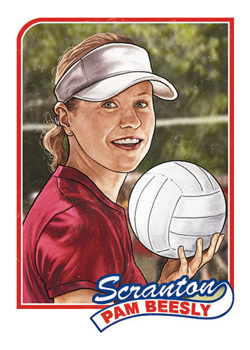 "Cuyler Smith ""211 - Pam Beesly"" Trading Card"