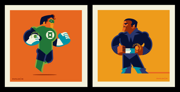 "Tom Whalen ""2814 Vs 1417"" Print Set"