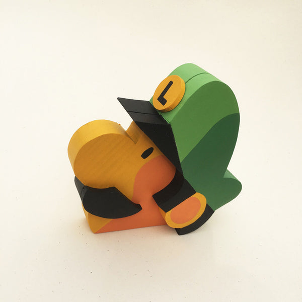 "Tom Whalen ""2up'd"" Sculpture"