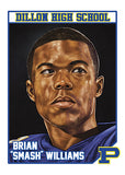 "Cuyler Smith ""51 - Brian 'Smash' Williams"" Trading Card"
