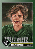 "Cuyler Smith ""62 - Lucy Draper"" Trading Card"