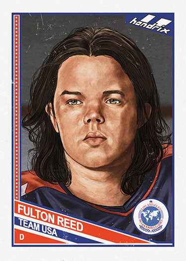 "Cuyler Smith ""68 - Fulton Reed"" Trading Card"