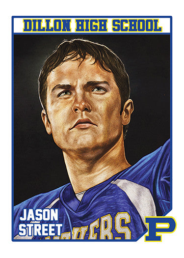 "Cuyler Smith ""87 - Jason Street"" Trading Card"