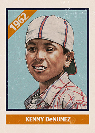 "Cuyler Smith ""92 - Kenny DeNunez"" Trading Card"