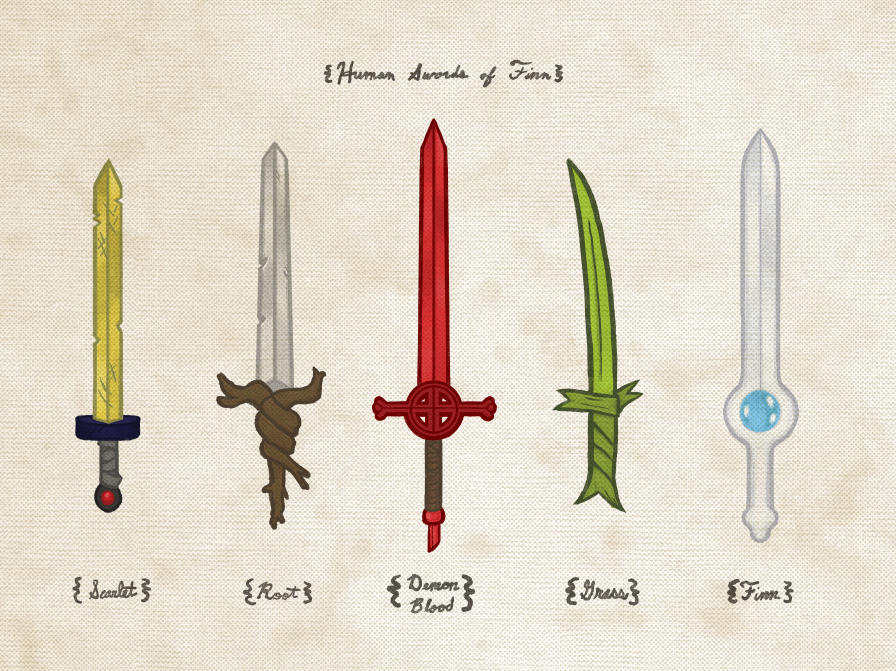 "Joe Van Wetering ""Human Swords of Finn"" Print"
