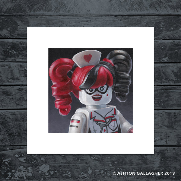 "Ashton Gallagher ""Lego Harley"" Print"