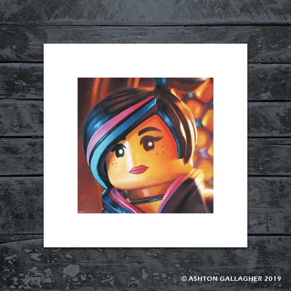 "Ashton Gallagher ""Lego Lucy"" Print"