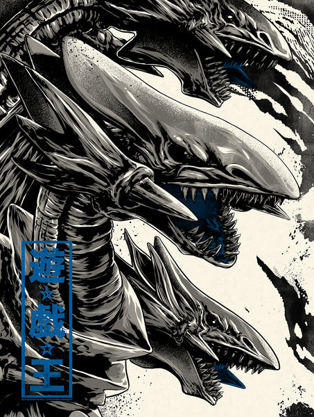 "Anthony Petrie ""Blue Eyes Ultimate Dragon Variant"" Print"