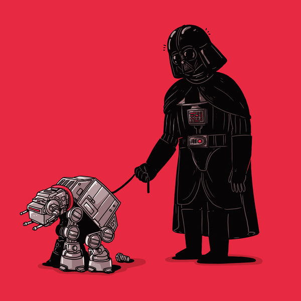"Alex Solis ""AT-AT Poop"" Print"