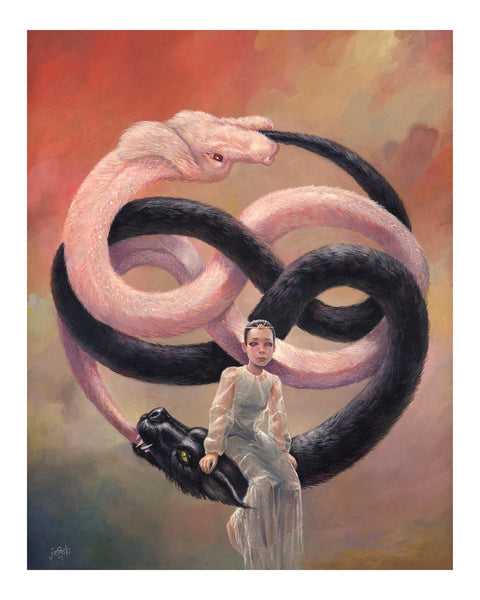 "Aaron Jasinski ""A Name That Never Ends"" Print"