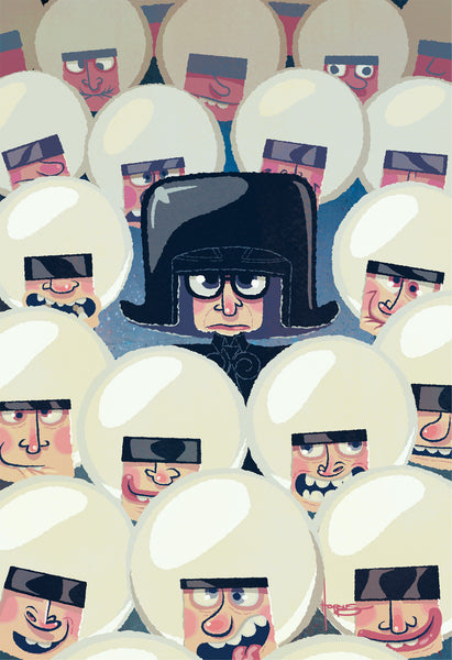 "Adam Hoppus ""Surrounded"" Print"