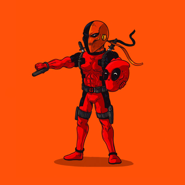 "Alex Solis ""Deadpool Unmasked"" Print"