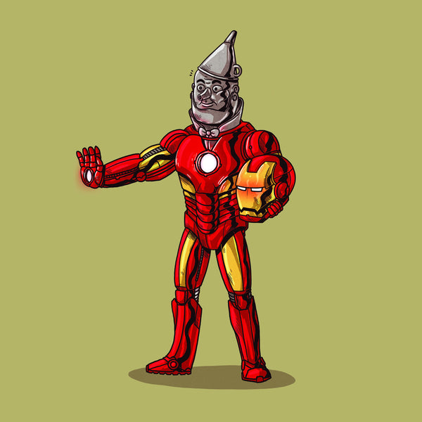 "Alex Solis ""Iron Man Unmasked"" Print"