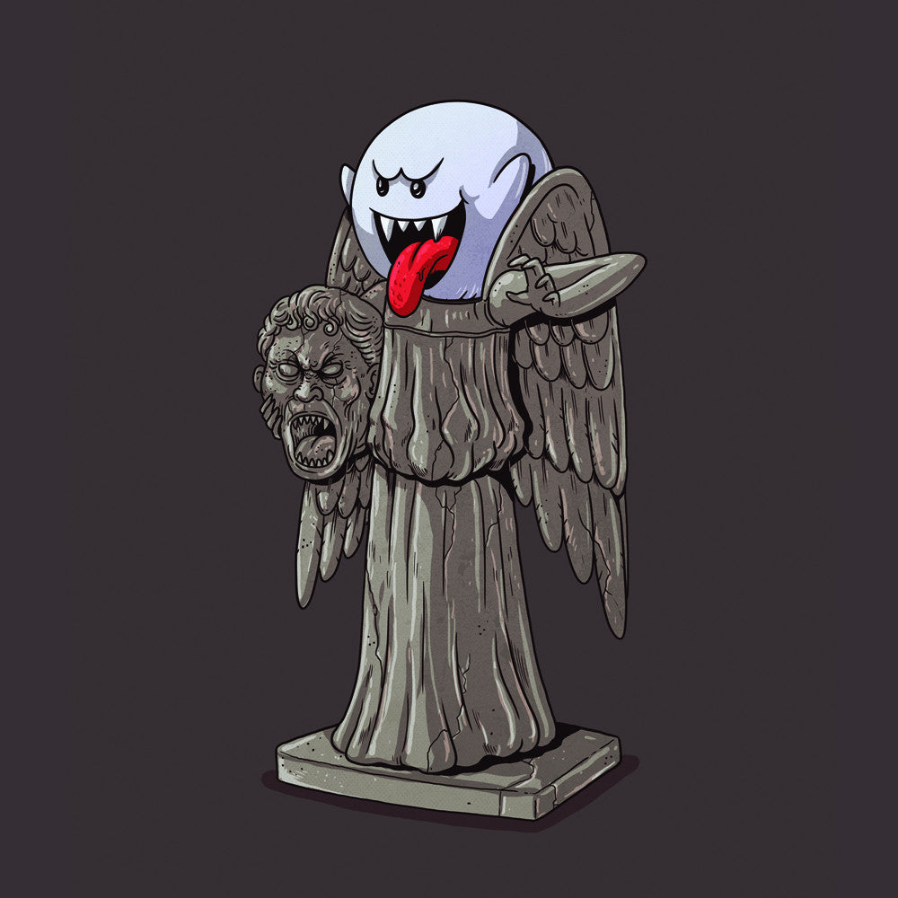 "Alex Solis ""Weeping Angel Unmasked"" Print"